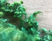 Dyed Teeswater Locks for Needle Felting or Art Yarn Ad-Ins in 1 oz bundles