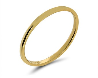 14k solid gold band. stackable ring, knuckle ring. fancy ring. trendy ring