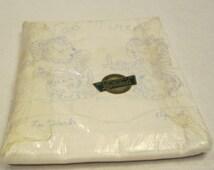 LeeWards Pillowcase Kit of Teddy Bears to Embroidery
