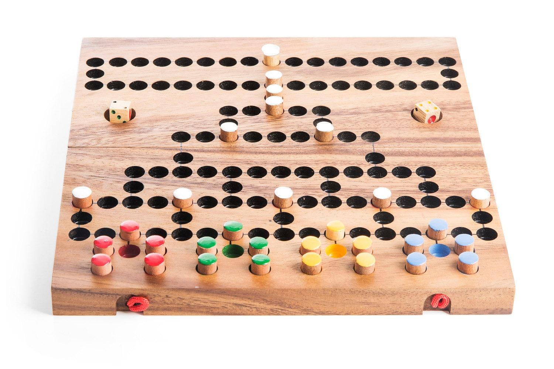 Wood Board Games ~ Barricade strategy wood board game wooden