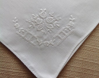 Vintage handkerchief - ideal for special occasions or a wedding