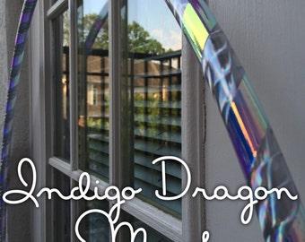 Indigo Dragon Morph Polypro Hoop