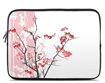 Laptop Sleeve Bag Case - Pink Tranquility - Neoprene Padded - Fits MacBooks + More
