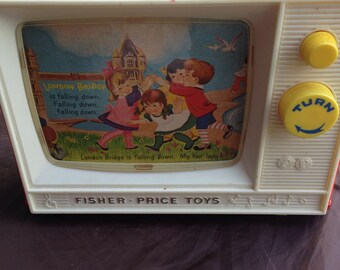 Vintage Fisher Price TV