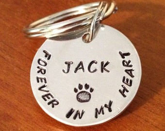 Pet memorial keyring, dog loss keyring, dog keychain, dog memorial gift, pet loss gift, dog loss, pet memorial