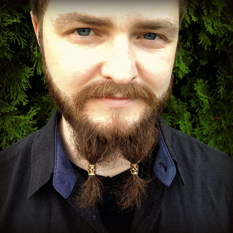 beard bead kit brondin goldtone tibetan alloy beard