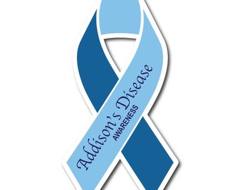 Addison Disease Awareness Sticker/Decal or Magnet Set