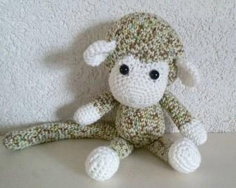 Amigurumi monkey, monkey
