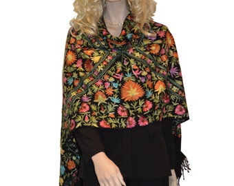 Scarf/Scarves/Shawl/Shawls/Embroidery Shawl from Cashmere Pashmina Group (15)