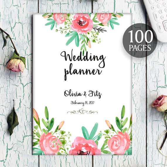 Bohemian wedding planner diy wedding binder wedding by for Diy wedding binder templates