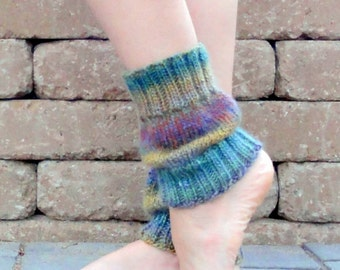 Boot cuff-boot toppers-short legwarmers -ombre  leggings-wool boot socks-ballet legwarmers-yoga legwarmers-girl boot cuffs