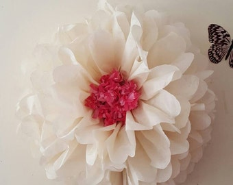 "one Giant 19"" flower wedding party babyshower bedroom wall flowers ( i can do these in any colours)"