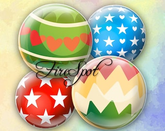 Xmas Christmas ball - Digital Collage Sheet 1.5 inch,1.25 inch,30mm,1 inch,25mm circle Jewelry.Scrapbooking Glass Pendants Bottlecaps