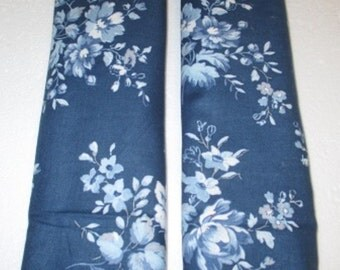 CHAMBRAY ROSE - Seatbelt/Strap Cover - Set of 2 -  Reversible - Australian Made