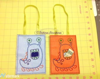 Monster Tooth Pouch