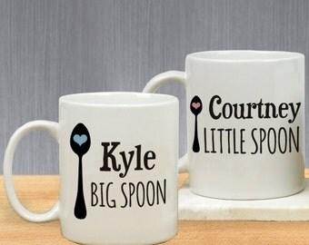 Personalized Couples Personalized Coffee Mug Set