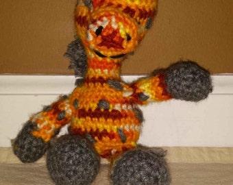 Crochet Giraffe Stuffie