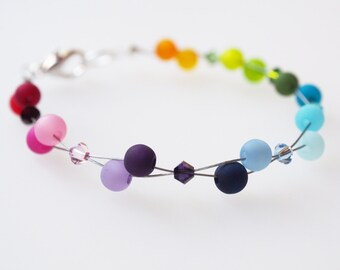 rainbow bracelet polaris colorful SWAROVSKI ELEMENTS