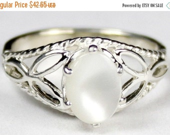 Summer Sale, 30% Off, SR137, Mother of Pearl, 925 Sterling Silver Ring