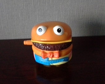 mcrockin food cheese burger happy meal toy