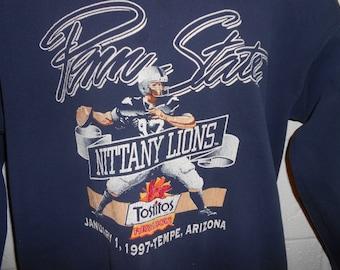 Vintage 90 Penn State PSU Nittany Lions Crewneck Sweatshirt S/M