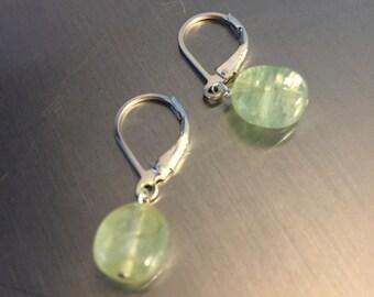 Pastel Umba Sapphire Drop Earrings