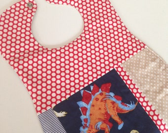Baby bib boy cute patchwork bibs