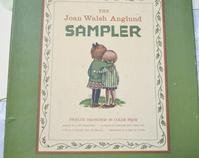 Vintage Joan Walsh Anglund Sampler Print Set 13 Prints Children Room Decor PanchosPorch