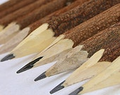 Handmade Rustic Wooden Natural Twig Pencils