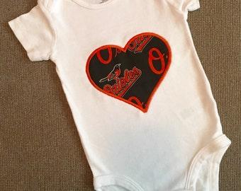 Baltimore Orioles onesie/shirt