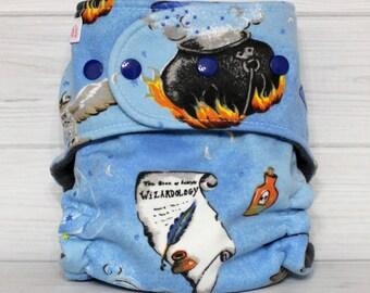 Wizardology - One Size AI2 Cloth Diaper