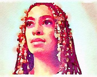 Solange Knowles Portrait