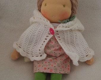 Hanna Handmade Waldorf Doll 35cm (14in)