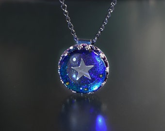 Little Star Necklace Pendant by Jackie Taylor Designs