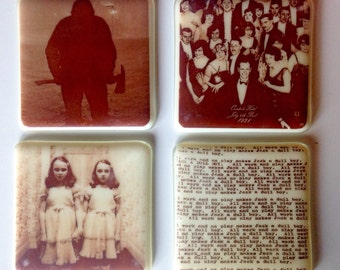 The Shining Coasters Overlook Hotel, Grady Twins, Jack Nicholson, All Work and No Play