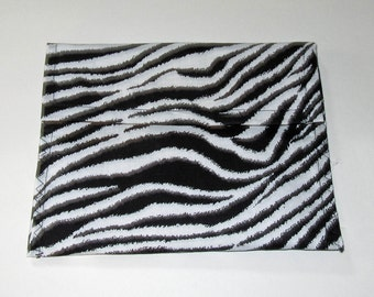 Zebra print Large Pouch, zebra pouches Large pouches