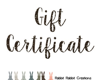 Gift Certificate - PDF sewing patterns - buy for a friend!