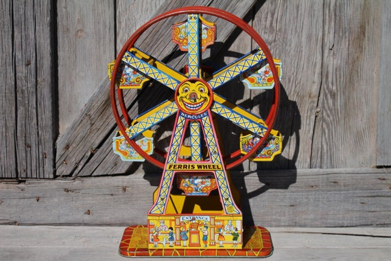J. Chein Hercules Ferris Wheel