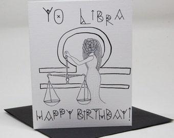 Yo Astrology Birthday Cards: Yo Libra