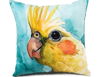 """Pillow, """"Canary Yellow"""""""