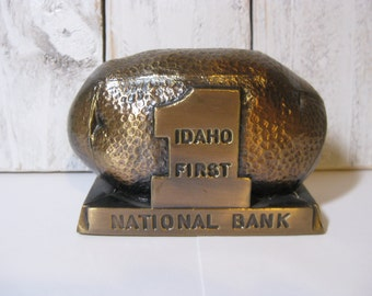 Idaho First National Bank Promotional Bank Vintage