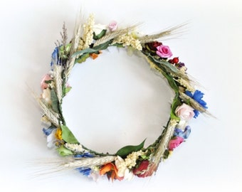 Polish Folk Wreath