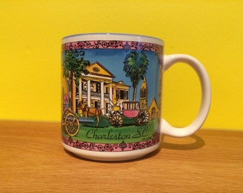 90s Retro Charleston, S.C. Coffee Mug
