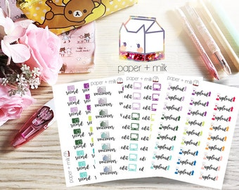 Youtube Creator Planner Stickers