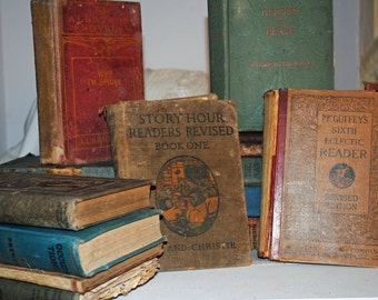 Antique and Vintage Books and Textbooks
