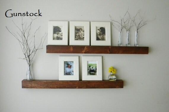 Floating Shelf Wall Shelf Shelves Wood By JNMRusticDesigns