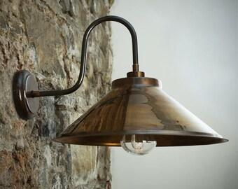 Nerissa Swan Neck Wall Light