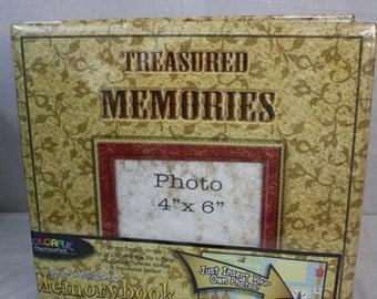 """12x12 Treasure Memories Pre-Designed """"Colorful Memories"""""""