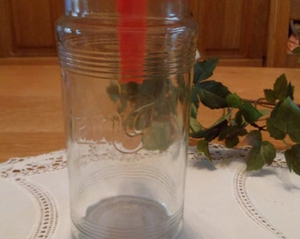 The TANG brand drink 1980s Lighthouse glass Carafe pot