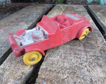 Vintage 1950's Auburn Rubber Toy Car